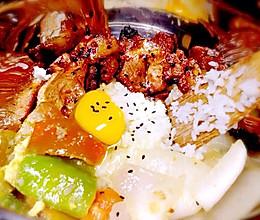 韩式烤肉拌饭的做法