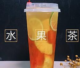 """2018年网红茶饮品牌""""喜茶"""",被爆出热门水果茶视频做法的做法"""