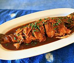 家常小菜--红烧鱼的做法