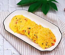 土豆火腿米饭饼的做法