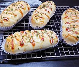 香葱芝士面包的做法