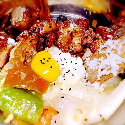 韩式烤肉拌饭