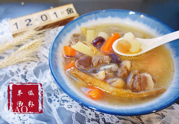 【粤式靓汤】秋冬进补之鲜甜羊肉汤的做法