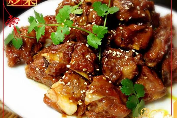 家常菜——蜜汁排骨的做法
