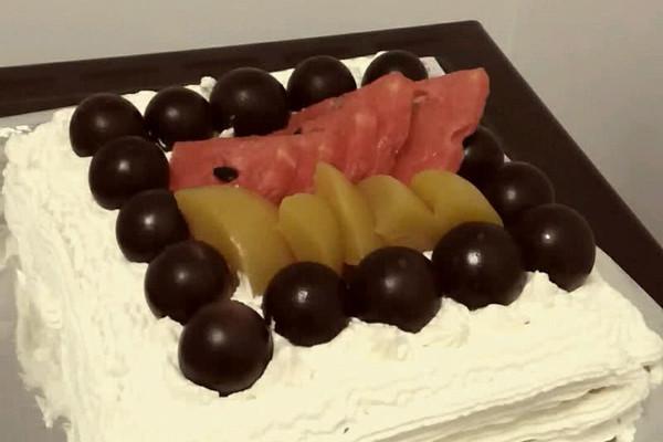 方形蛋糕 |的做法