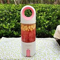 蜂蜜花红柚子汁的做法图解10