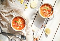 三文鱼疙瘩汤——宝宝主食系列的做法