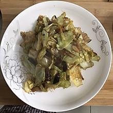 炝炒圆白菜2