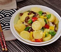 #精品菜谱挑战赛# 玉子豆腐烧香菇的做法