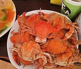 螃蟹蒸的做法