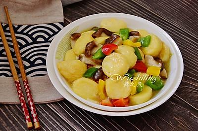 #精品菜谱挑战赛# 玉子豆腐烧香菇