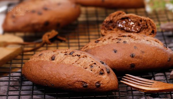 用卡士烤箱960M烤的巧克力甜面包的做法