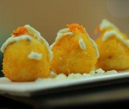 黄金虾球#炎夏消暑就吃「它」#的做法