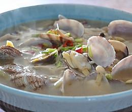 香菇花蛤汤,鲜得舌头都掉了的做法