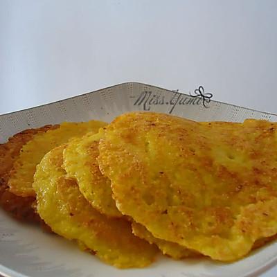 超好吃的煎玉米饼【100%纯玉米】