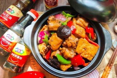 豆腐鸡翅煲