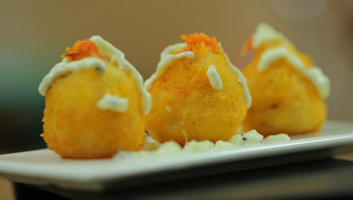 黄金虾球#炎夏消暑就吃「它」#