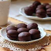 ~巧克力软心派~一口一个的小甜点的做法图解23