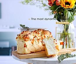 芝士培根咸香面包的做法