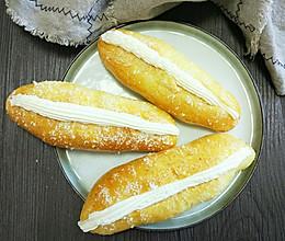 椰蓉奶油夹心面包的做法