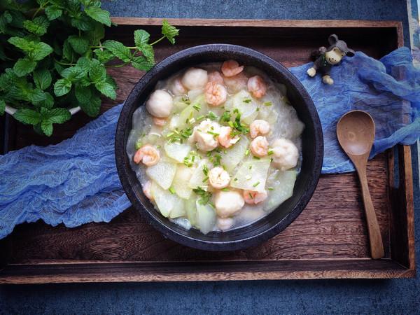 #父亲节,给老爸做道菜#冬瓜虾仁的做法