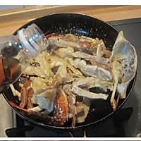 姜葱炒梭子蟹的做法图解6