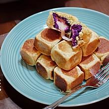 #网红美食我来做#紫薯仙豆糕(低脂低糖版)