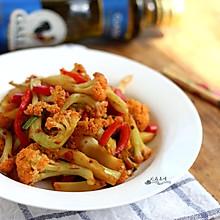 干锅花菜#Gallo橄露橄榄油#