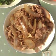 洋葱羊肉片