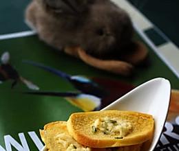 黄油烤馒头片的做法