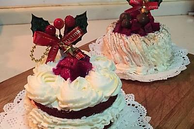 紅絲絨奶油蛋糕/卷