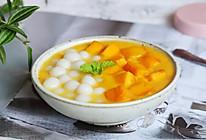 夏日必备小甜品,芒果小丸子,糯叽叽超好吃的做法