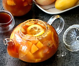 冷热皆宜的水果茶的做法