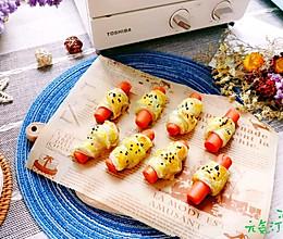 #全电厨王料理挑战赛热力开战!#网红小食~火腿肠小小酥的做法