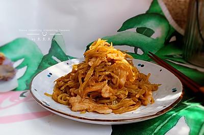 莴苣丝炒肉