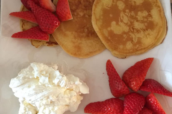 草莓松饼的做法
