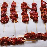 香辣孜然烤鸡胗#做道好菜,自我宠爱!#的做法图解10