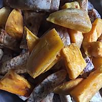 反沙芋头番薯(潮汕名食)的做法图解2