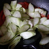 番茄丝瓜蛋汤的做法图解6