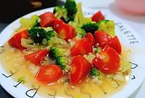 清炒营养西兰花与胡萝卜的做法