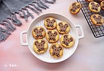 #钟于经典传统味#小老鼠曲奇饼干的做法