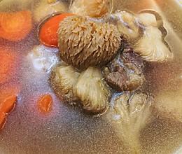 猴头菇心灵鸡汤的做法