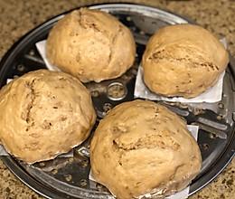 红糖燕麦米馒头的做法