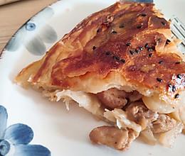 鸡肉奶酪馅饼(手抓饼版)的做法