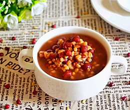 营养早餐:红豆燕麦粥的做法