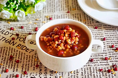 营养早餐:红豆燕麦粥
