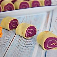 紫薯鸡蛋卷的做法图解11