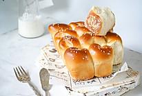 椰香脆底小面包的做法