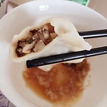 素食主义者必备:香菇胡萝卜水饺