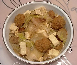 白菜炖豆腐粉条的做法
